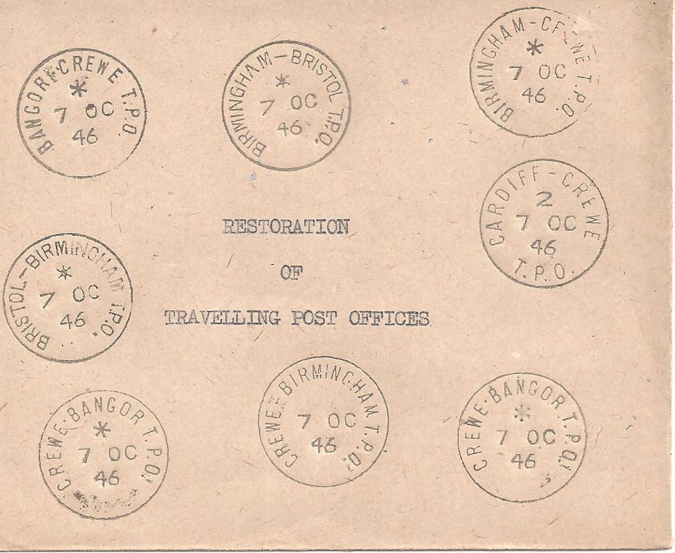 GB tpo strikes from date of official resumption after WWII
